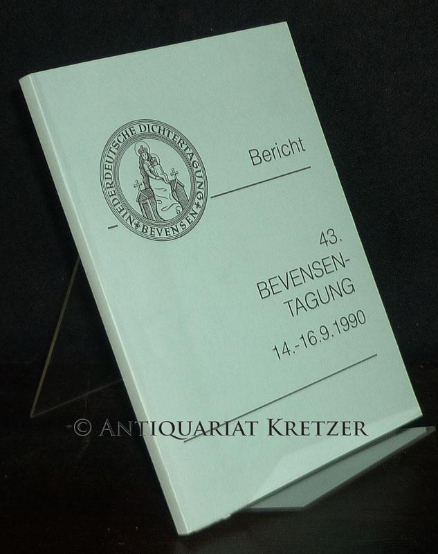 43. Bevensen-Tagung. Jahrestagung für Niederdeutsch, 14. bis 16. September in Bad Bevensen. Plattdüütsch Leed.