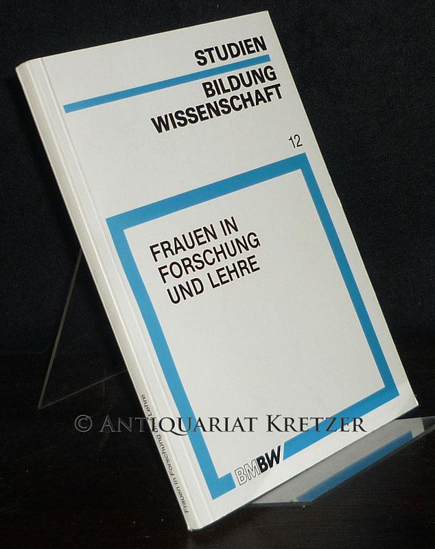 Frandsen, Dorothea (Hrsg.), Ursula Huffmann (Hrsg.) und Roswitha Wisniewski (Hrsg.): Frauen in Forschung und Lehre. Herausgegeben von Dorothea Frandsen, Ursula Huffmann und Roswitha Wisniewski. (= Studien zu Bildung und Wissenschaft, Band 12).