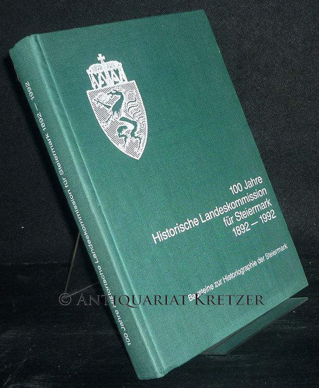 100 Jahre Historische Landeskommission für Steiermark 1892 - 1992. Bausteine zur Historiographie der Steiermark. Herausgegeben von Othmar Pickl. (= Forschungen zur geschichtlichen Landeskunde der Steiermark, Band 36).