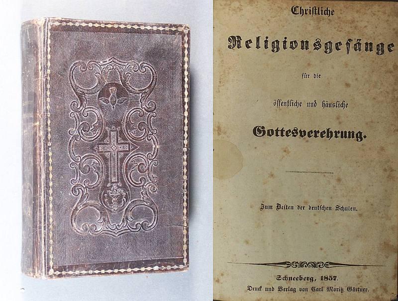 Christliche Religionsgesänge für die öffentliche und häusliche Gottesverehrung. Zum Besten der deutschen Schulen.