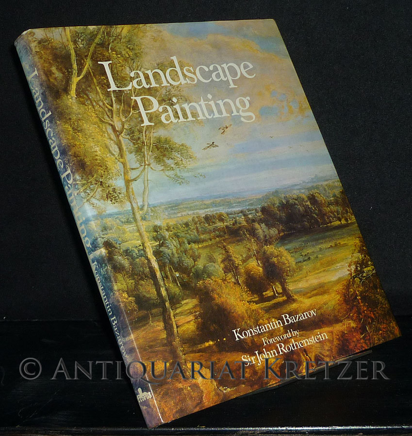 Bazarov, Konstantin: Landscape Painting. [By Konstantin Bazarov].