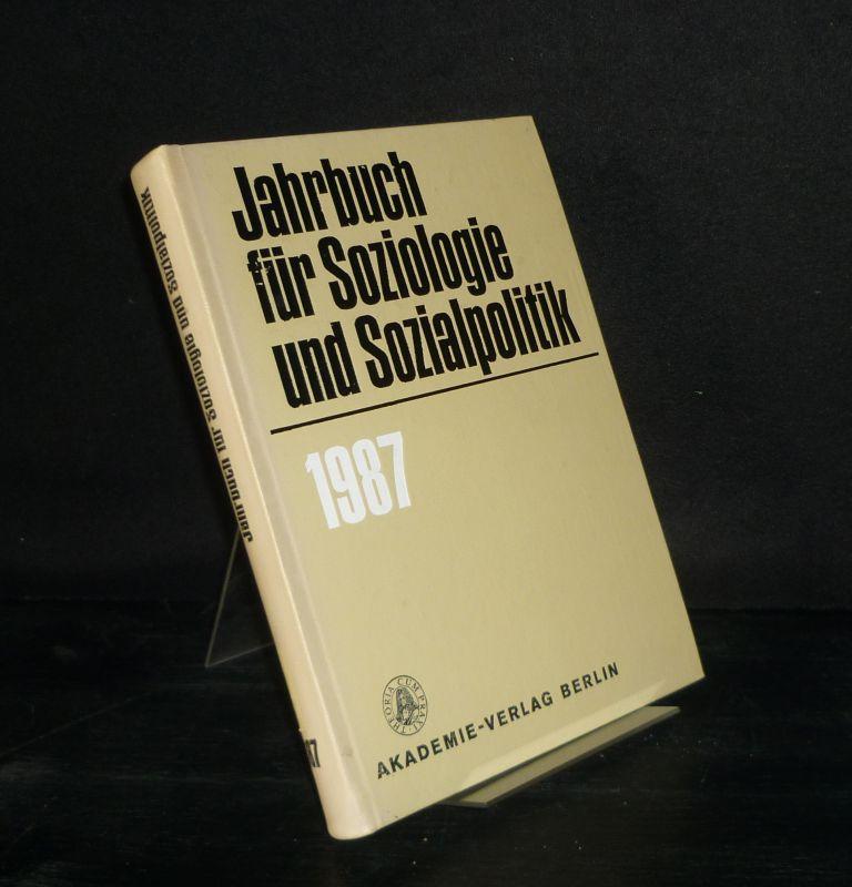 Jahrbuch für Soziologie und Sozialpolitik - 1987.