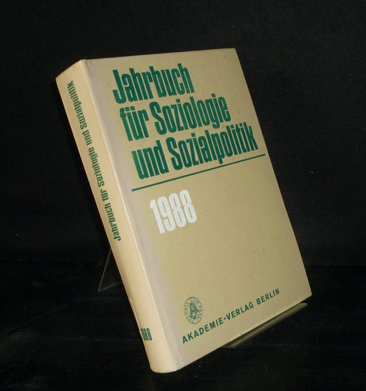 Jahrbuch für Soziologie und Sozialpolitik - 1988.