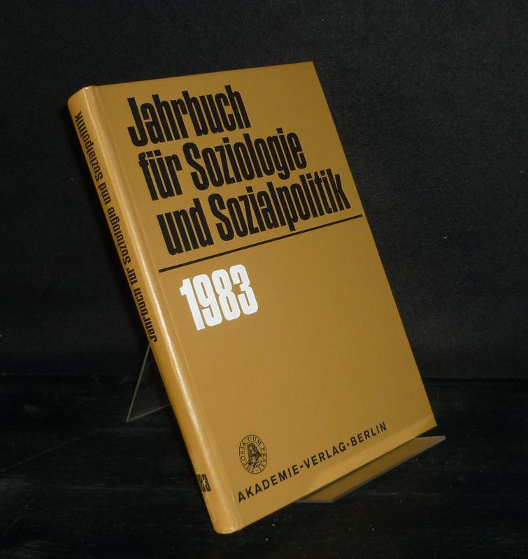 Jahrbuch für Soziologie und Sozialpolitik - 1983.