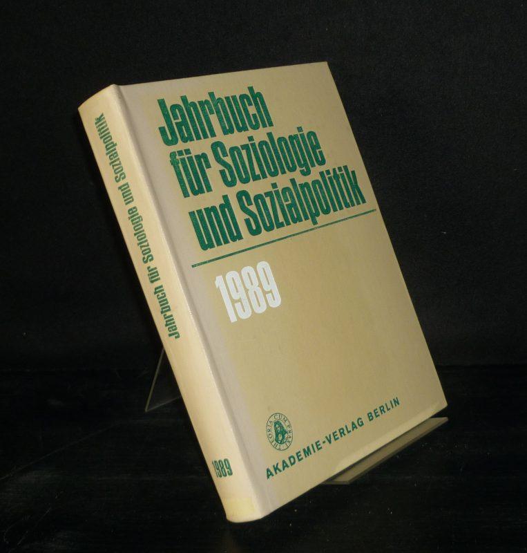 Jahrbuch für Soziologie und Sozialpolitik - 1989.