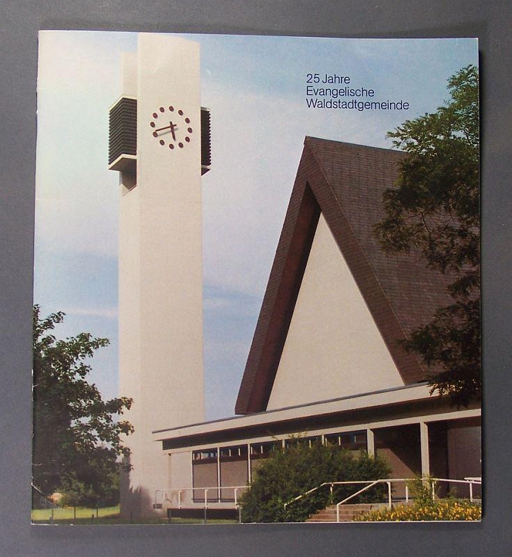 Nölle, Rolf (Hrsg.): Festschrift und Dokumentation. 25 Jahre Evangelische Waldstadtgemeinde, Kindergartenarbeit, Kirchenmusik und Chorarbeit. Herausgegeben von Pfarrer Rolf Nölle.