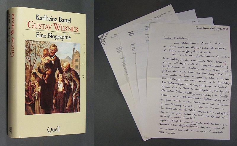Gustav Werner. Eine Biographie. Von Karlheinz Bartel. 1. Auflage,