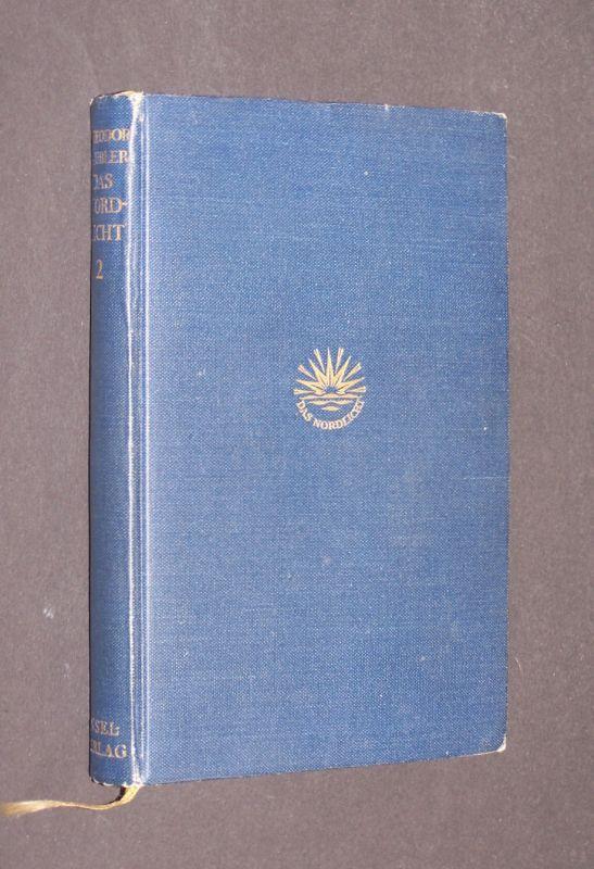 Das Nordlicht. [Von Theodor Däubler]. Band 2: Sahara. Band 2 (von 2) einzeln. Genfer Ausgabe, 1. Ausgabe der veränderten Fassung.