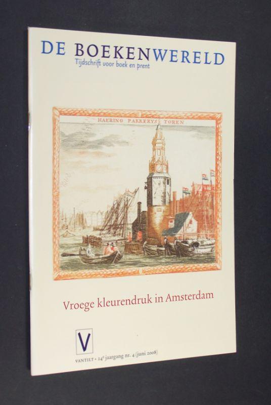 Anbeek, M., H. Hafkamp J. F. Heijbroek (Redakteure) u. a.: Vroege kleurendruk in Amsterdam. [Redaktion durch M. Anbeek, H. Hafkamp, J. F. Heijbroek et al.]. (= De boekenwereld. Tijdschrift voor boek en prent. 24. Jahrgang Nr. 4, Juni 2008).