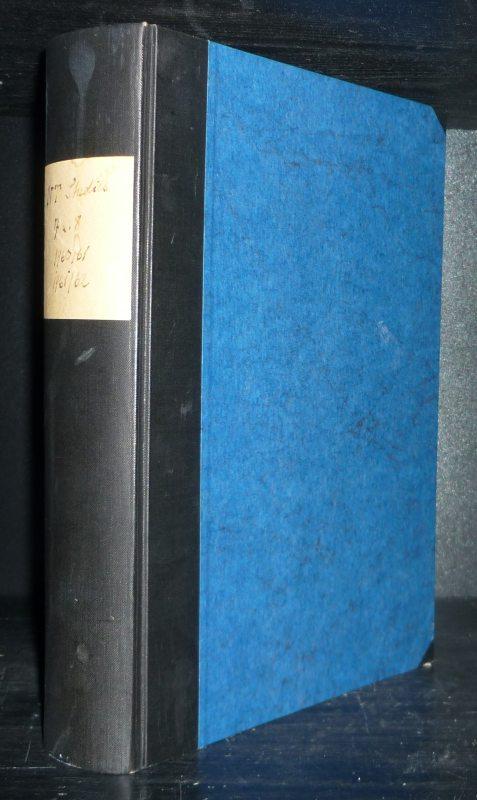 New Testament Studies. An International Journal. Published quarterly under the auspices of Studiorum Novi Testamenti Societas. Vol. 7 & 8. 1960-1962. [Edited by Matthew Black]. 2 Jahrgänge in einem Band.