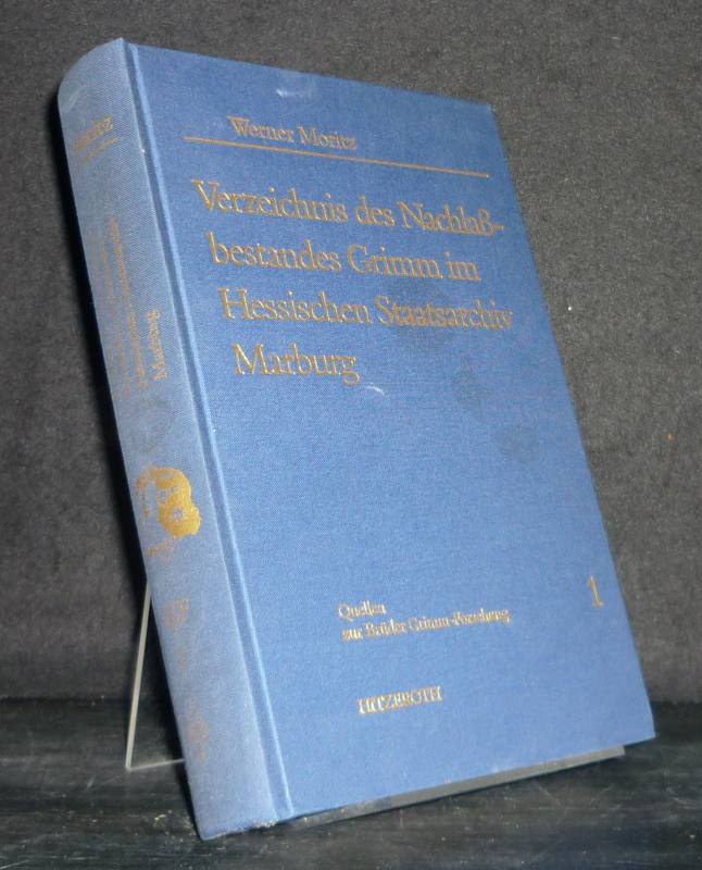 Verzeichnis des Nachlaßbestandes Grimm im Hessischen Staatsarchiv Marburg. [Bearbeitet von Werner Moritz et al.]. (= Quellen zur Brüder Grimm-Forschung, Band 1).