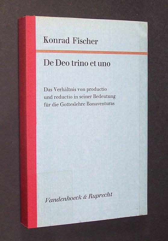 De Deo trino et uno. Das Verhältnis von productio und reductio in seiner Bedeutung für die Gotteslehre Bonaventuras. (= Forschungen zur systematischen und ökumenischen Theologie, Band 38. Herausgegeben von Edmund Schlink).