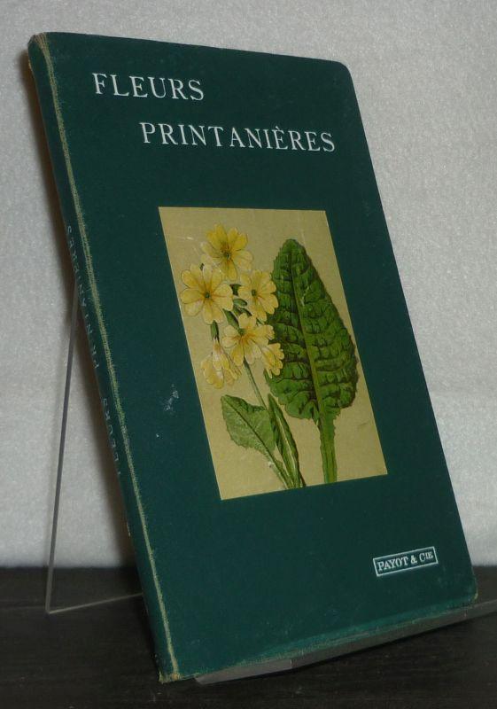 Fleurs Printanières. Leporellobuch und Beiheft.