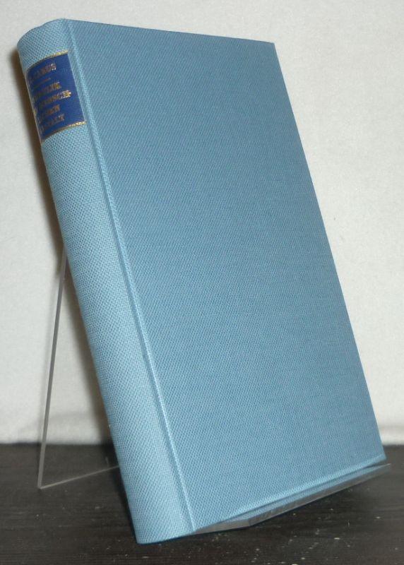 Symbolik der menschlichen Gestalt. Ein Handbuch zur Menschenkenntnis. [Von Carl Gustav Carus]. Photomechanischer Nachdruck der 2., vielfach vermehrten Auflage, Leipzig 1858