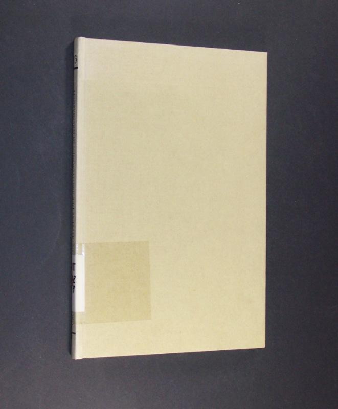 Reflexe der Amosvisionen im Jeremiabuch. Von Walter Beyerlin. (= Orbis Biblicus et Orientalis, Band 93).