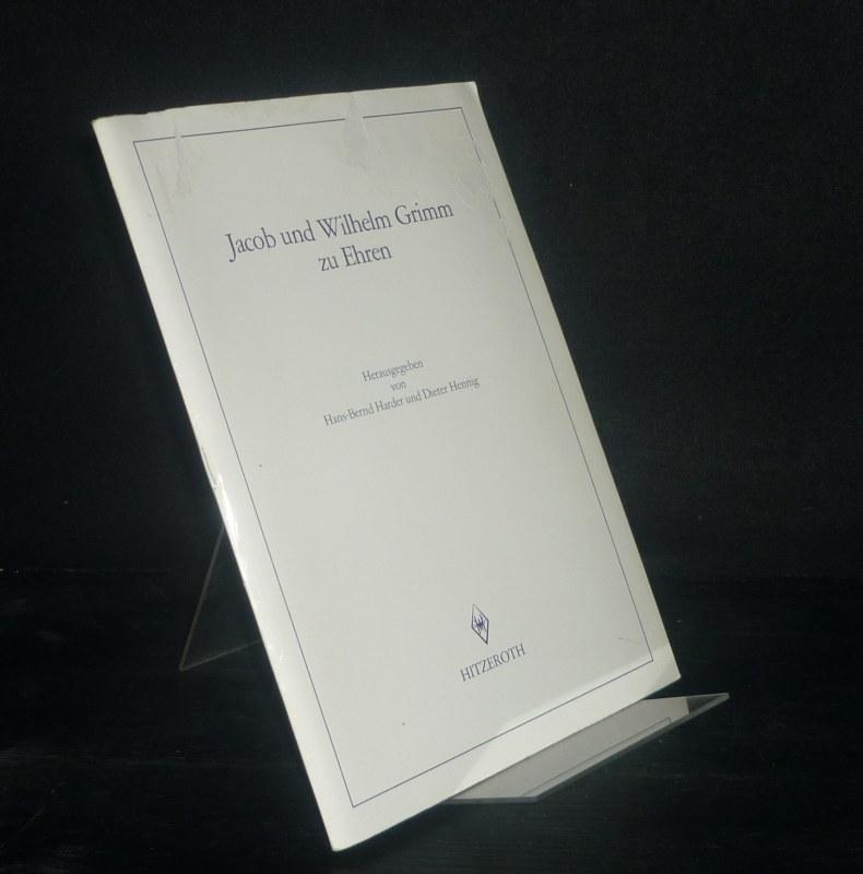 Jacob und Wilhelm Grimm zu Ehren. Herausgegeben von Hans-Bernd Harder und Dieter Hennig. (= Schriften der Brüder-Grimm-Gesellschaft, Nr. 18).