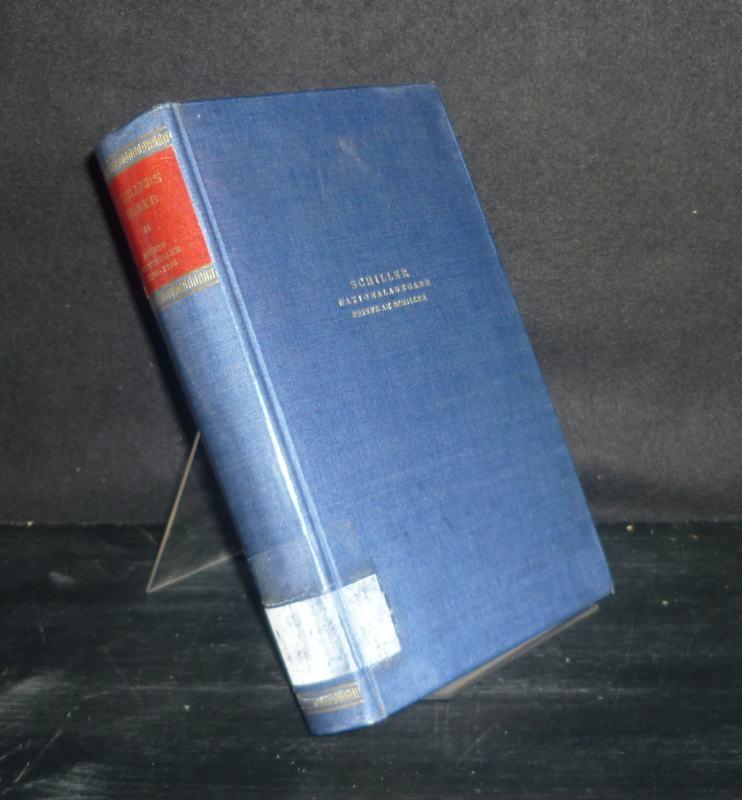 Schiller, Friedrich von (Verf.), Julius Petersen (Hrsg.) Norbert Oellers (Hrsg.) u. a.: Schillers Werke - Nationalausgabe: Band 35: Briefwechsel. Briefe an Schiller 25.5.1794 - 31.10.1795. Herausgegeben von Günter Schulz. Einzelband.