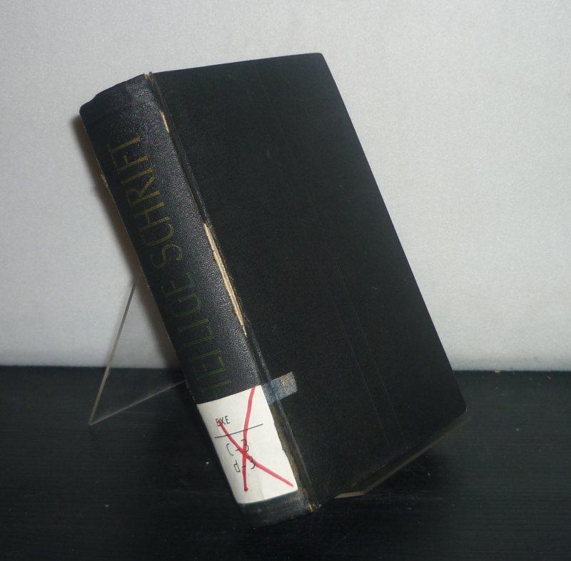 Die Bibel oder die ganze Heilige Schrift des Alten und Neuen Testaments nach der deutschen Übersetzung Martin Luthers. Nach dem 1912 vom Deutschen Evangelischen Kirchenausschuß genehmigten Text.