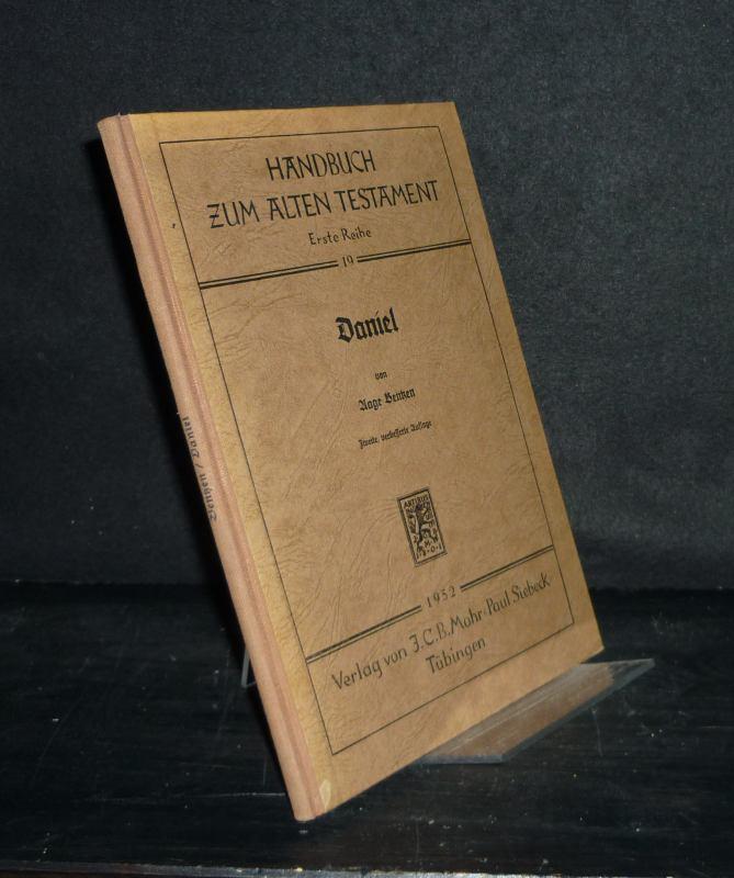 Daniel. Von Aage Bentzen. (= Handbuch zum Alten Testament, Reihe 1, Band 19). 2., verbesserte Auflage.