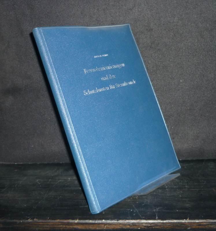 Fernrohrmontierungen und ihre Schutzbauten für Sternfreunde. [Von Anton Staus]. 2. verbesserte Auflage.