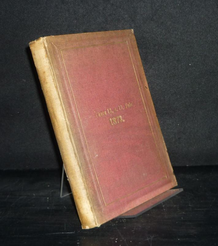 Die vierte [4.] Säcularfeier der Geburt von Nicolaus Copernicus, Thorn 18. und 19. Februar 1873.