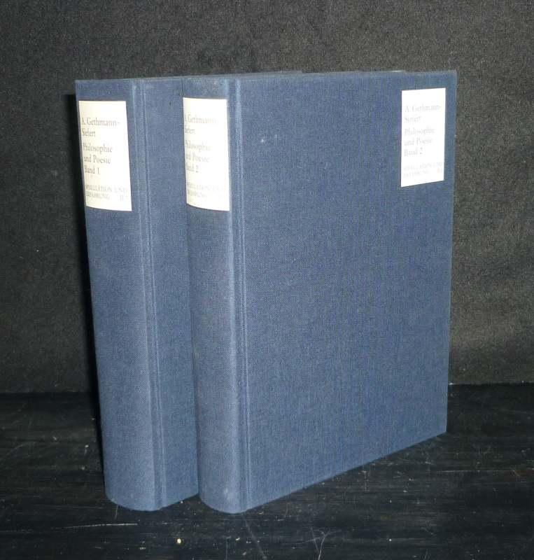 Philosophie und Poesie. Otto Pögeler zum 60. Geburtstag. [2 Bände]. Herausgegeben von Annemarie Gethmann-Siefert. (= Spekulation und Erfahrung, Abteilung 2: Untersuchungen, Band 7 und 8). 2 Bände (= vollständig).
