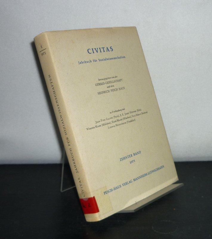 Civitas. Jahrbuch für Sozialwissenschaften - Band 10.