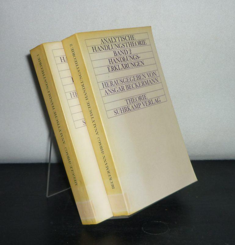Analytische Handlungstheorie. [2 Bände. - Herausgegeben von Ansgar Beckermann]. - Band 1: Handlungsbeschreibungen. - Band 2: Handlungserklärungen. (= Suhrkamp Theorie). 2 Bände (= vollständig).