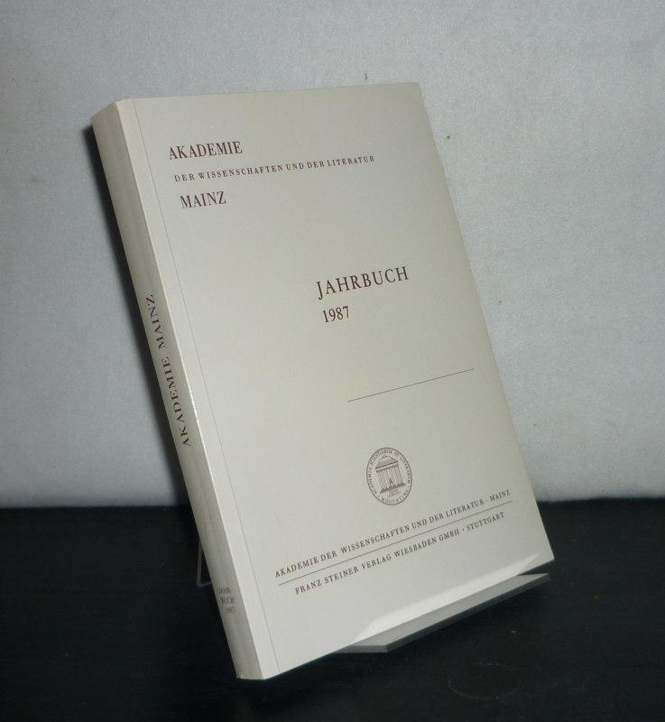Akademie der Wissenschaften und Literatur - Jahrbuch 1987, 38. Jahrgang.