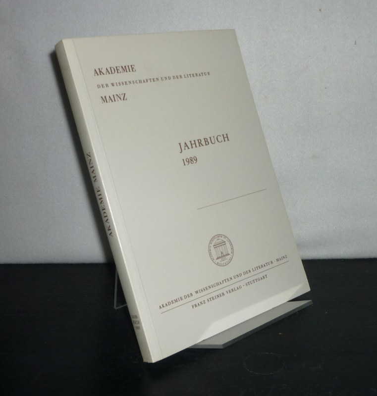 Akademie der Wissenschaften und Literatur - Jahrbuch 1989, 40. Jahrgang.