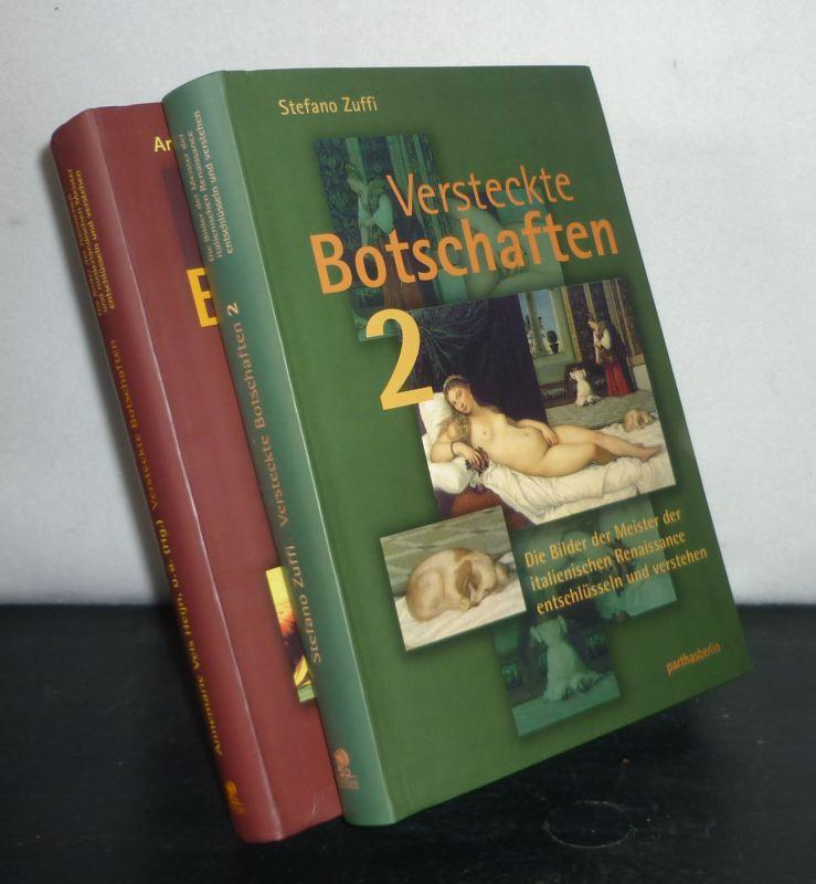 Versteckte Botschaften. Die Bilder der holländisch-flämischen Meister entschlüsseln und verstehen. [2 Bände. - Von Annemarie Vels Heijn, Caroline Bunnig, Judikje Kiers u.a.]. 2 Bände (= vollständig).