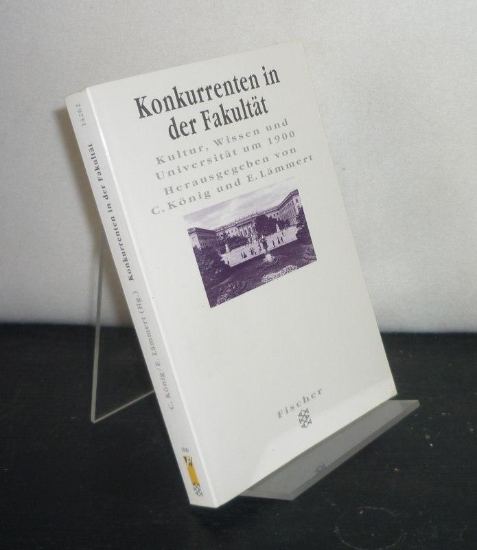 Konkurrenten in der Fakultät. Kultur, Wissen und Universität um 1900. Herausgegeben von Christoph König und Eberhard Lämmert. (Forum Wissenschaft. Figuren des Wissens). Orig-Ausg.