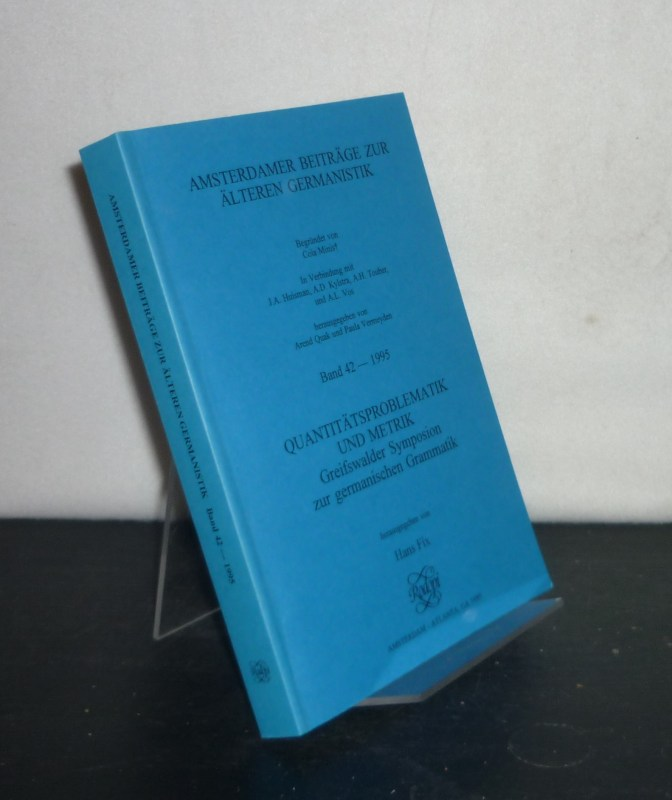 Frisian Runes and Neighbouring Traditions. Proceedings of the First International Symposium on Frisian Runes at the Fries Museum, Leeuwarden 26 - 29 January 1994. Edited by Tineke Looijenga end Arend Quak. (= Amsterdamer Beiträge zur älteren Germanistik, Band 45).