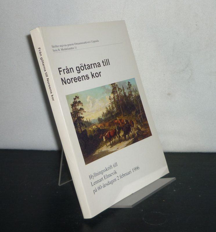 Fran götarna till Noreens kor. Hyllningsskrift till Lennart Elmevik pa 60-arsdagen 2 februari 1996. (=     Skrifter utgivna genom Ortnamnsarkivet i Uppsala, Serie B, Meddelanden 11).