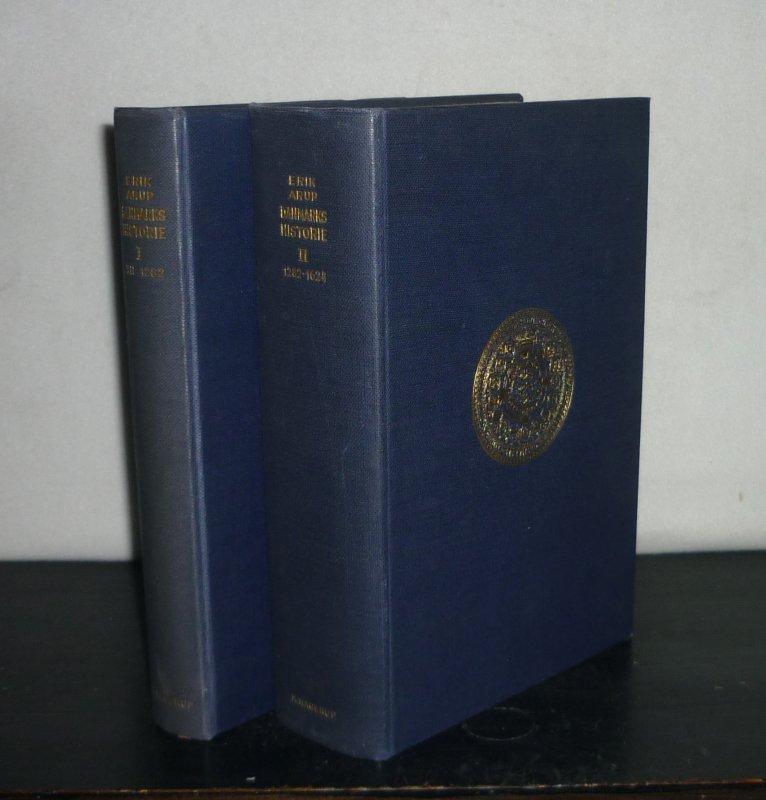 Danmarks Historie. [2 Bände. - Von Erik Arup]. 2 Bände (von 3; in sich geschlossen).