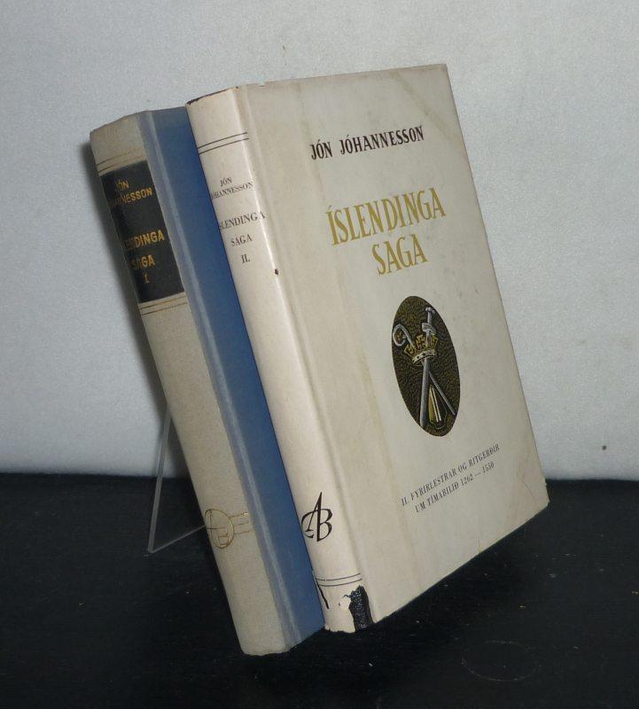 Johannesson, Jon: Islendinga Saga. [2 Volumes. - Av Jon Johannesson]. - Volume 1: Pjödveldisöld. - Volume 2: Fyrirlestrar og ritgerdir um timabilid 1262 - 1550.