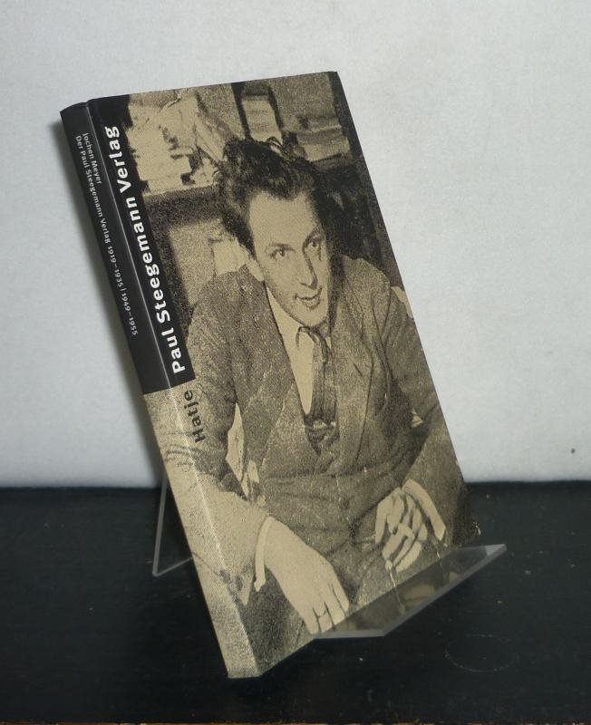 Meyer, Jochen: Paul-Steegemann-Verlag 1919 - 1935, 1949 - 1955. Sammlung Marzona. Von Jochen Meyer.[Sprengel-Museum Hannover, 3.X.1994 - 15.1.1995].