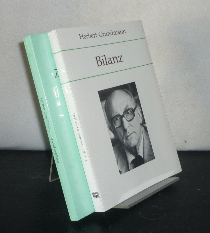 Grundmann, Herbert: Konvolut aus 2 Bänden von Herber Grundmann - Band 1: Zwischenbilanz. - Band 2: Bilanz. 2 Bände.