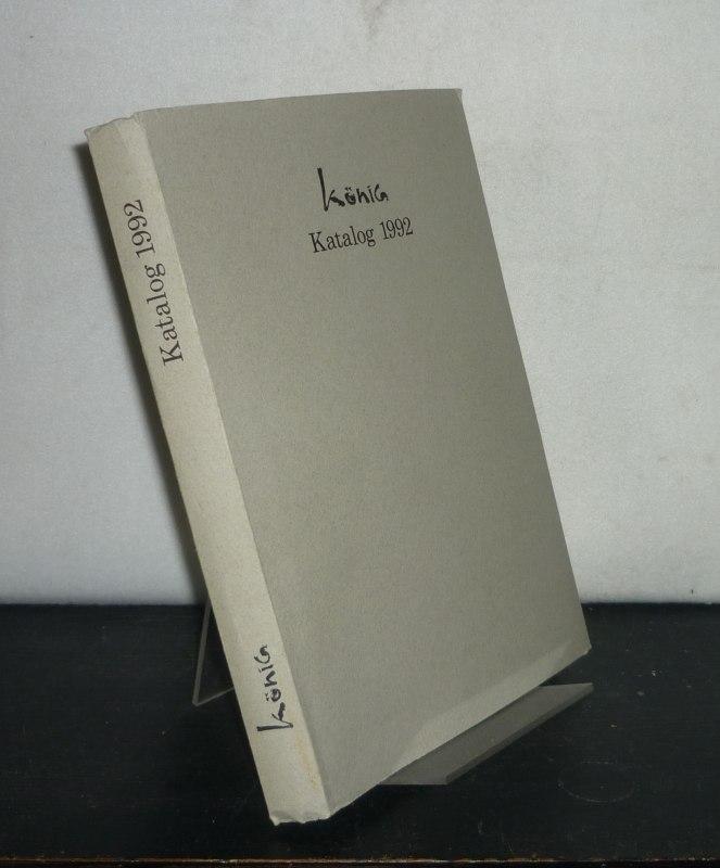 Bunt- und Feinpapiere - Katalog 1992. Papierwerkstatt König.