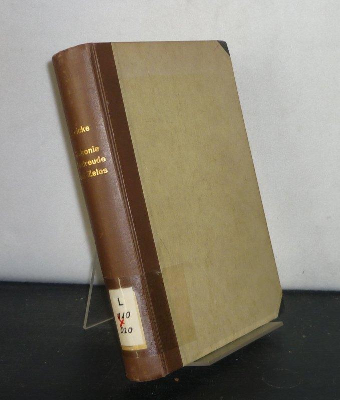 Diakonie. Festfreude und Zelos in Verbindung mit der altchristlichen Agapenfeier. Von Bo Reicke. (= Uppsala Universitets Arsskrift 1951: 5).