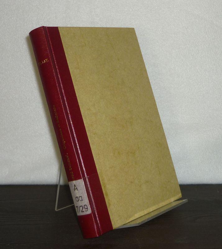 Origeniana et Rufiniana. Von Caroline P. Hammond Bammel. (= Vetus Latina. Aus der Geschichte der lateinischen Bibel, Band 29).