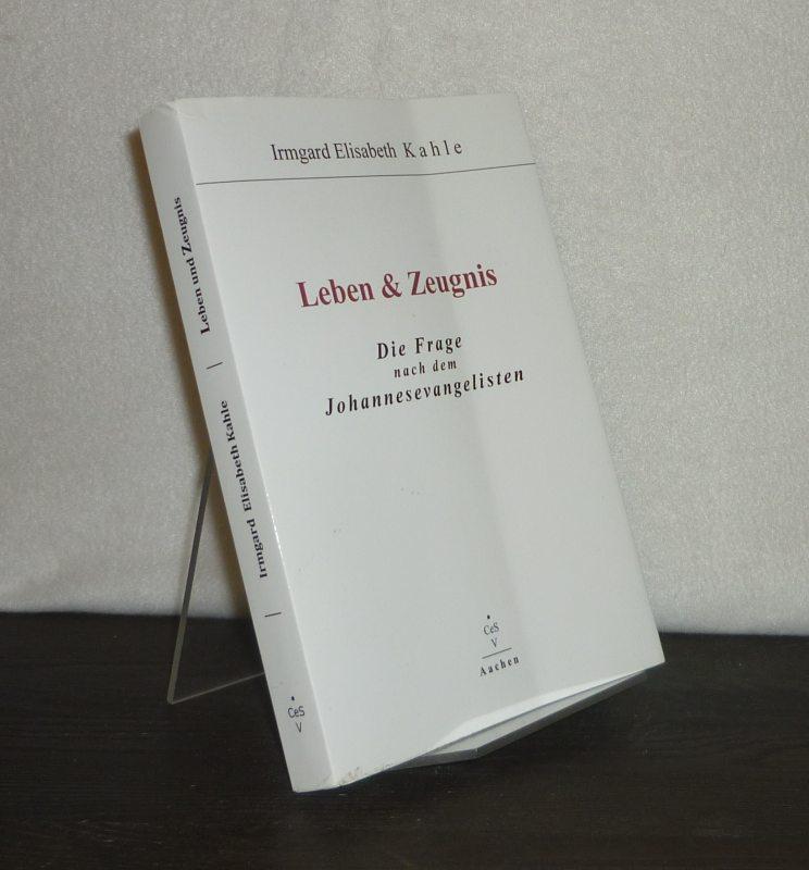 Leben und Zeugnis. Die Frage nach dem Johannisevangelikum. [Von Elisabeth Kahle].