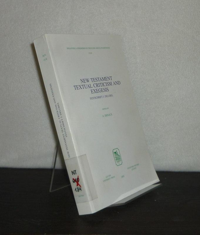 New Testament Textual Criticism and Exegesis. Festschrift J. Delobel. Edited by A. Denaux. (= Bibliotheca ephemeridum theologicarum Lovaniensium, Volume 161).