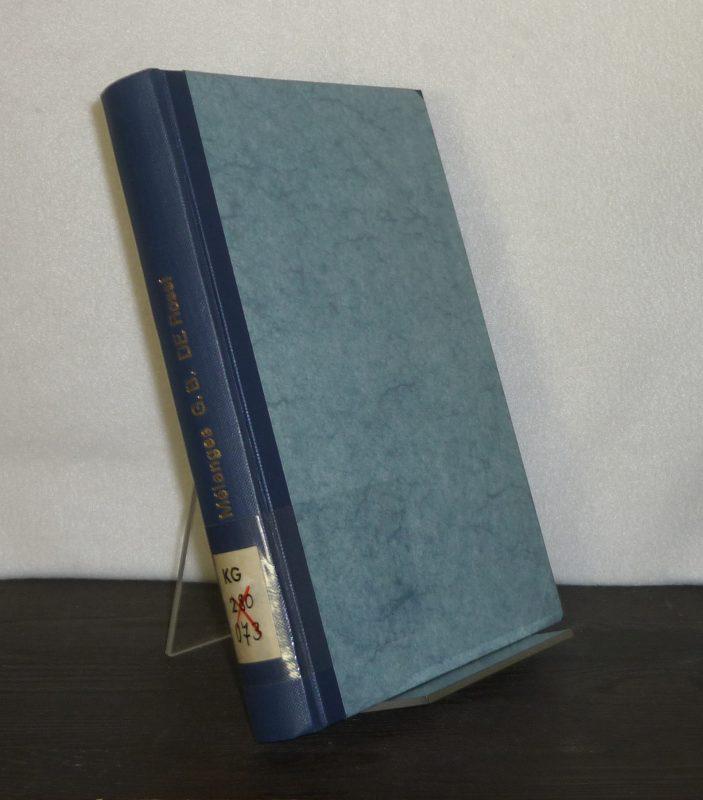 Mélanges G. B. de Rossi. Recueil de travaux publiés par l