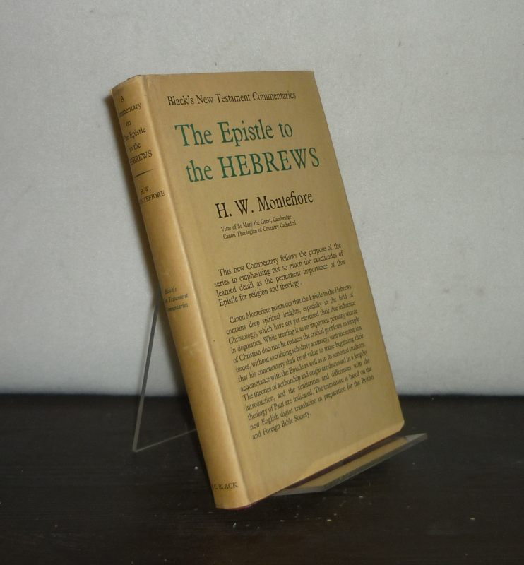 A Commentary on the Epistle to the Hebrews. By Hugh Montefiore. (Black