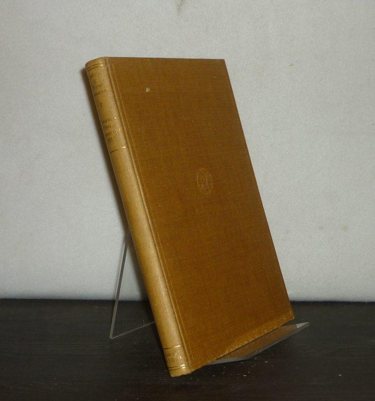 Congress Volume. Copenhagen 1953. (= Supplements to Vetus Testamentum, Volume 1).