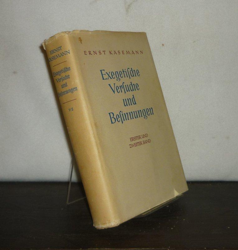 Exegetische Versuche und Besinnungen. [2 Bände in 1 Band. - Von Ernst Käsemann]. 2 Bände in 1 Band (= vollständig). / Mischauflage.