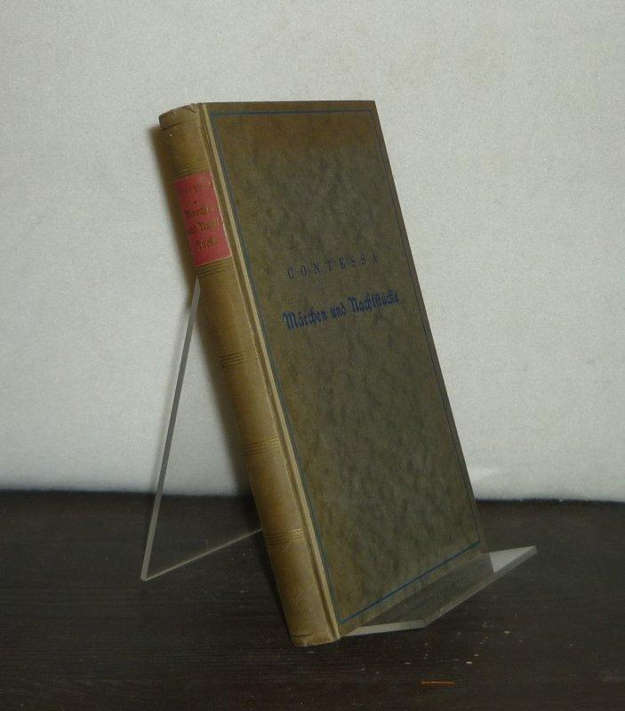 Märchen und Nachtstücke. Von Carl Wilhelm Salice Contessa. (Die Bücherei der neuen Serapionsbrüder).