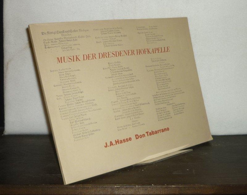 Hasse, Johann Adolf: Sonate B-Dur für Violine und Basso continuo. [Von Tomaso Albinoni]. Mit einem Kommentar von Michael Talbot.  (Musik der Dresdener Hofkapelle. Autographen und singuläre Abschriften).
