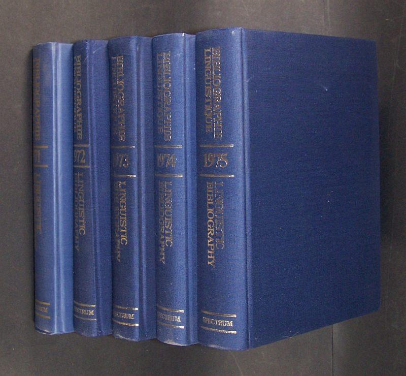 Bibliographie linguistique de l